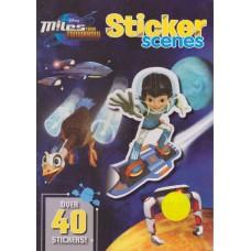 Disney Junior Miles from Tomorrow Sticker Scenes - Over 40 stickers!
