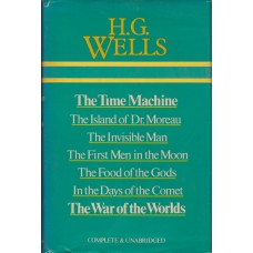 Omnibus H.G. Wells Complete and Unabridged. The Time Machine, The Island of Dr Moreau, The Invisible Man, The First Men on the Moon, The Food of the Gods, In the Days of the Comet, The War of the Worlds.